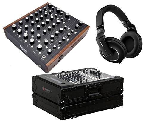 Dj Rotary Mixer - Rane MP2015 Rotary DJ Mixer + HDJ-2000 Mk2 + Case