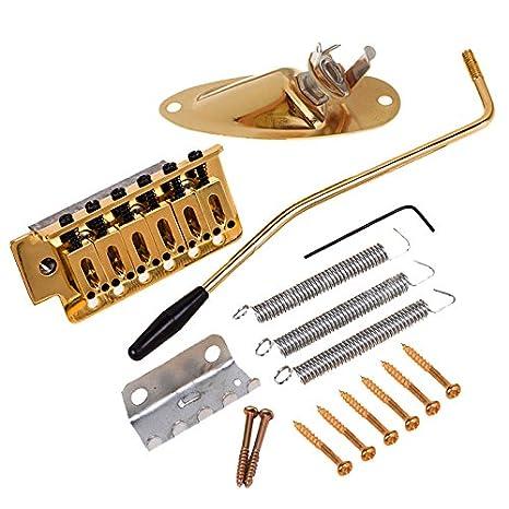 1 Juego De Guitarra Tremolo Bridge W/Socket De Barco Para Guitarra ...