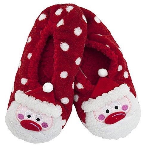 Eesa con mujer para estampado de zapatillas Adam 3d Santa 1wdHU1