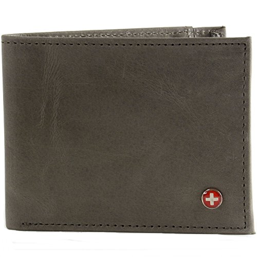 Alpine Swiss Genuine Leather Slimfold product image