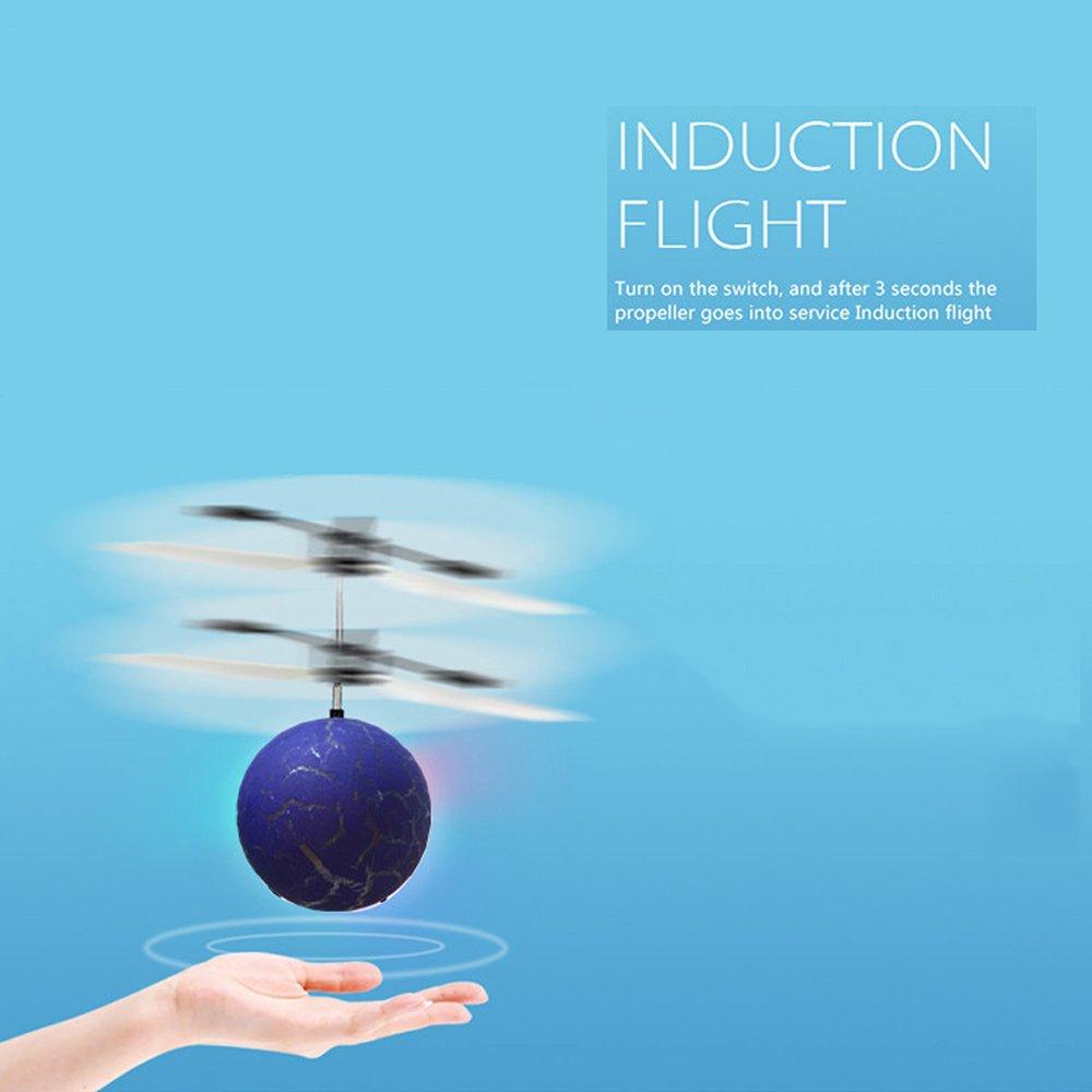 Pinjeer Inducción de Resistencia a la suspensión de los Aviones de inducción a la Carga de otoño Control Remoto Volante Helicóptero Boy Juguetes Divertidos ...