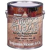 Stays Clear Acrylic Polyuretha by Benjamin Moore & Co.