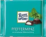 Ritter Sport Chocolate Bar Peppermint, 3.5 oz