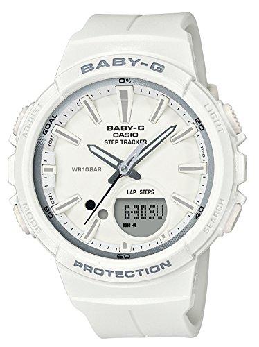 Casio Baby G White Dial Polyurethane Strap Ladies Watch BGS-100SC-7A