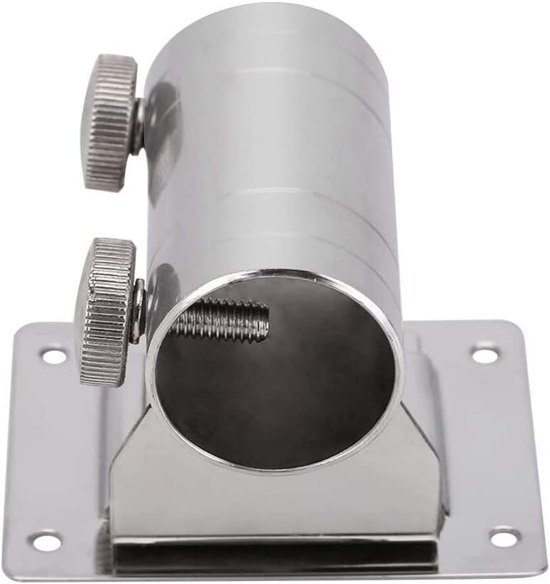 2 Stk Angelbox Regenschirmhalter Legierung Halterung Teile Angelwerkzeuge