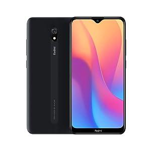 """Xiaomi Redmi 8A Smartphone, 2GB 32GB Mobilephone, 6,22""""Pantalla Snapdargon 439 Octa Core Teléfono Móvil 5000mAh 12MP AI Tipo Cámara Trasera 8MP Cámara Frontal,Versión Global (Negro)"""