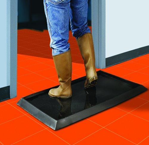 Wearwell 222 12x24x32bk Sanitizing Floor Mat 24 Quot X 32