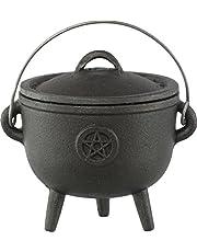Cast Iron Cauldron 4.5-inch Pentacle