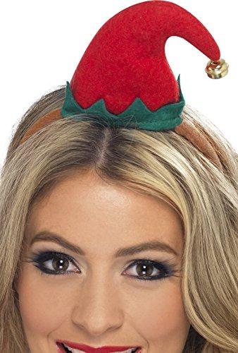 Adult's Mini Christmas Elf (Womens Elf Hat Headband)