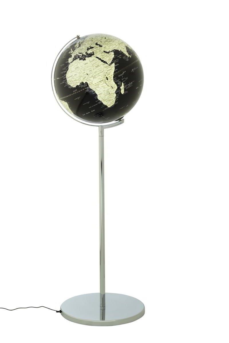 Emform Standglobus Sojus schwarz, Metall & Kunststoff, 430 x 1320 mm, Beleuchtet