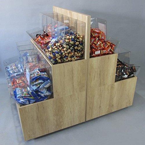 Mueble kit de 100 cm con dispensadores a granel: Amazon.es: Industria, empresas y ciencia
