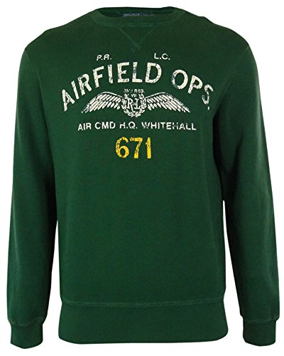 Polo Ralph Lauren Mens Airfield Ops Sweater (Large) by RALPH LAUREN