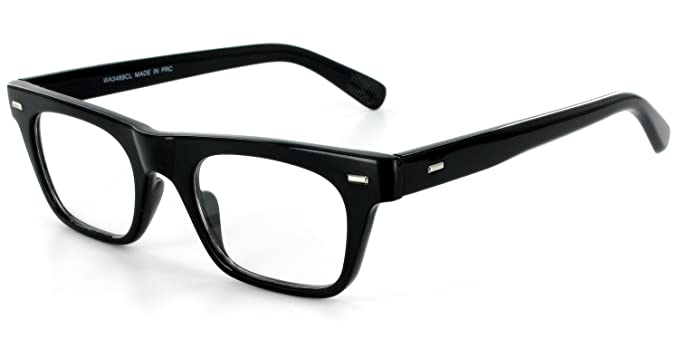77fd28d2c4 Amazon.com  Wayfarer Clear Fashion Glasses for Youthful