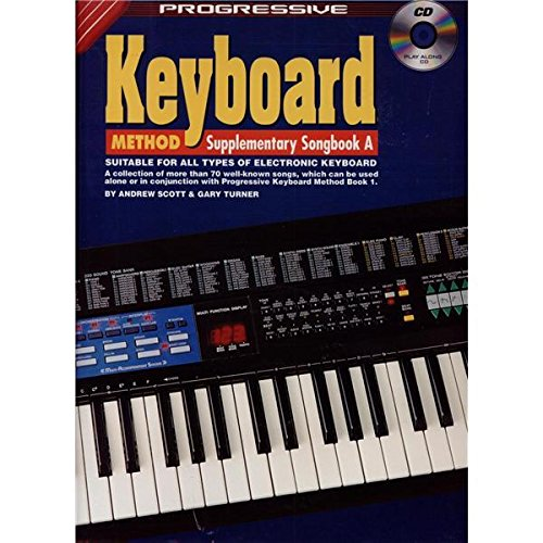 Progressive: Electronic Keyboard Method - Supplementary Songbook A (Book/CD). Partitions, CD pour Clavier