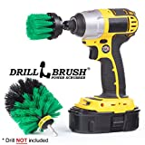 Power Bath Brush Electric Tile and Grout Brush Small Shower Track Brush