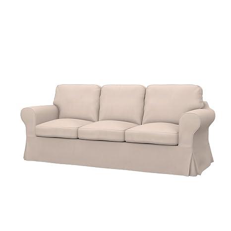 Soferia - IKEA EKTORP Funda para sofá Cama de 3 plazas, Eco ...