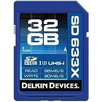 Delkin Devices 32GB 633X UHS-I (U3) SD Memory Card