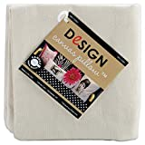Canvas Corp CVS1139 Square Canvas Pillow, 14-Inch, Natural, 1-Pack