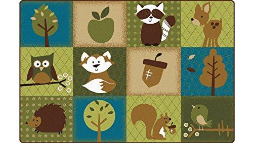 Carpets for Kids 22724 Natures Friends Toddler Rug