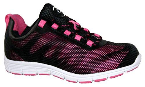 Grondwerk Unisex-veiligheidsgordels Voor Volwassenen Gr95 Schoenen Multicolore - Zwart / Roze