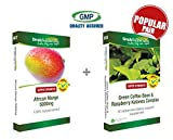 Simply Supplements African Mango 5000mg 60 Tablets + Green Coffee Bean & Raspberry Ketones Complex 60 Capsules | Slimming pack by SimplySupplements