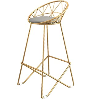 Awesome Amazon Com Cosmoliving By Cosmopolitan Ellis Barstools Gold Creativecarmelina Interior Chair Design Creativecarmelinacom