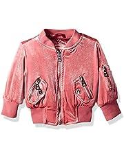 URBAN REPUBLIC Baby Girls Stretch Velvet Jacket