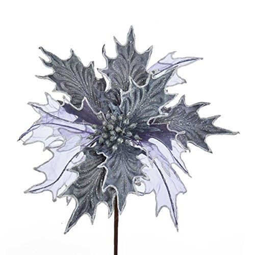 et Sheer Poinsettia Pick ()