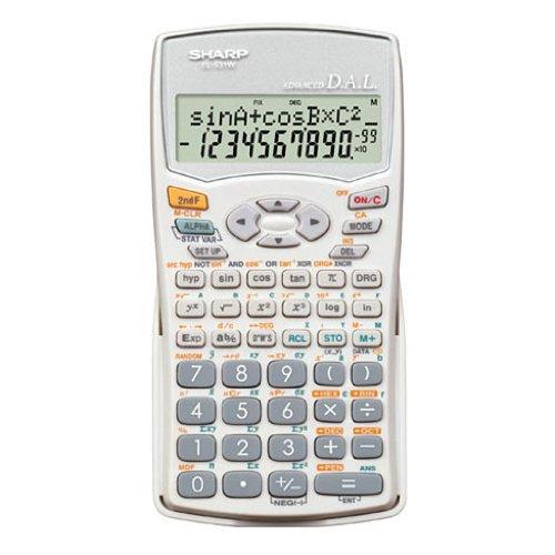 Sharp EL531WB-WH Calculatrice scientifique EL531WH