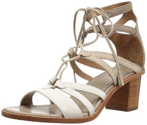 Frye Women's Brielle Gladiator Dress Sandal White/Multi tvM8sCvt