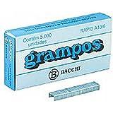 Grampo Galvanizado Rapid A13/6 Caixa/5000 Bacchi