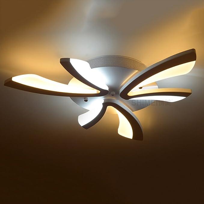 LXSEHN LED acrylique créative plafonnier, salon chambre