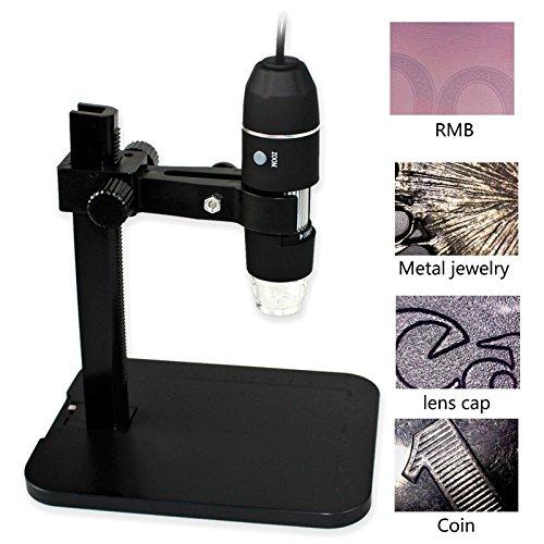 Gintai Digital USB Microscope Portable 1000X 2MP 8 LED 2....