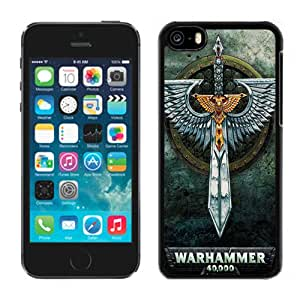 Lovely Iphone 5c Case Design with Warhammer 40000 Black Phone Case for Iphone 5c Generation