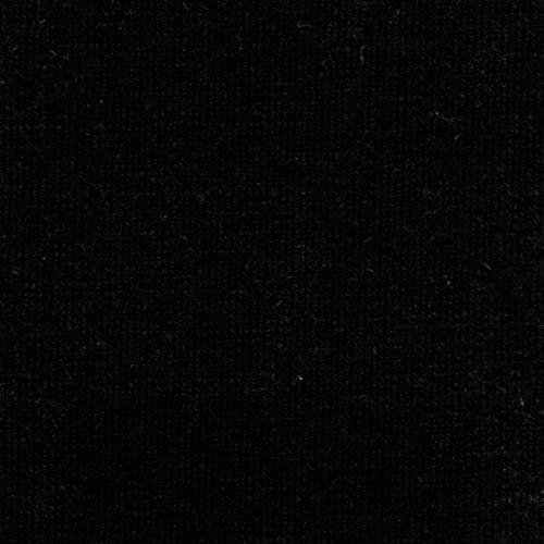 55% Hemp / 45% Organic Cotton Lightweight Jersey Fabric - Black - 5 Yards