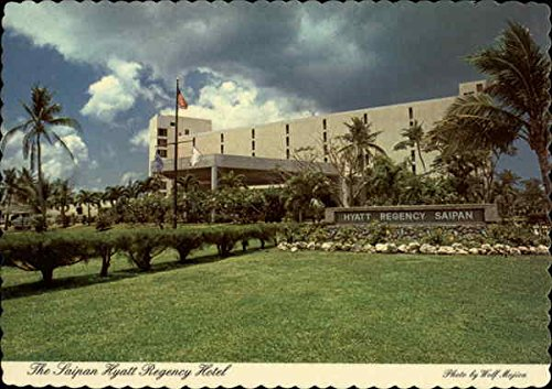 The Saipan Hyatt Regency Hotel Saipan, Northern Mariana Islands Original Vintage Postcard
