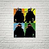 Team Ninja TMNT Artwork poster