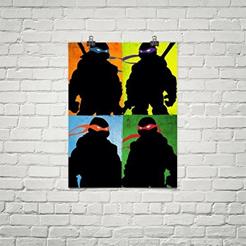 Amazon.com: Team Ninja TMNT Artwork poster: Handmade