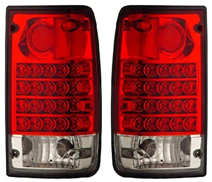 amazon toyota pickup 89 95 led tail light red clear new automotive Camry Tail Light Assembly toyota pickup 89 95 led tail light red clear new