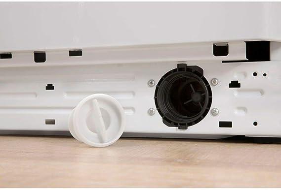 Lavadora carga frontal - Indesit, BWA 81283X W EU, 8 kg, 1200 rpm ...
