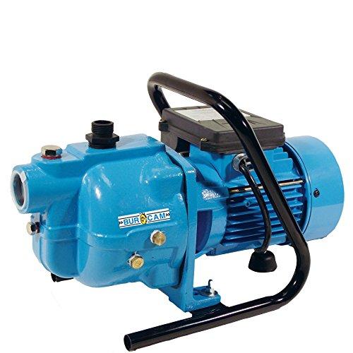 BurCam 503120S  S.W. Cast Iron Sprinkler Jet Pump with Handle, 1/2 hp, 115V/230V (1/2 Hp Shall Well Pump)