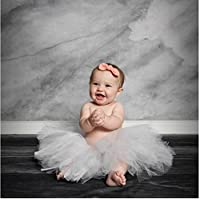 Marble Grey and White Backdrop 6x8 Printed Photography Background Photo Backdrops Platinum Cloth Photo Booth Wedding, Floor Drop PC1063 Fabric Better Then Muslin or Canvas, Made in USA