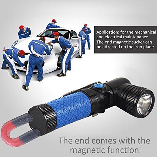 Lampe Torche Led Puissante Chargeable Rotatif Lampe De Inspection