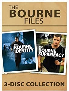 The Bourne Files: The Bourne Identity / The Bourne Supremacy (3DVD) [Import]