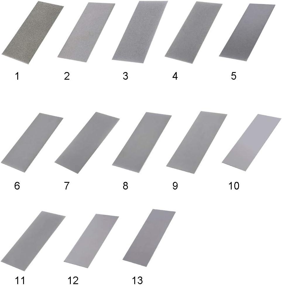 800 K/örnung Schleifen Polieren Diamantplatte Sch/ärfstein Schleifstein 240-3000 K/örnung N/ützlich