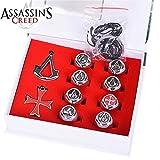 10 pcs/set 3 Colors Assassins Creed Necklace Pendants - Best Reviews Guide