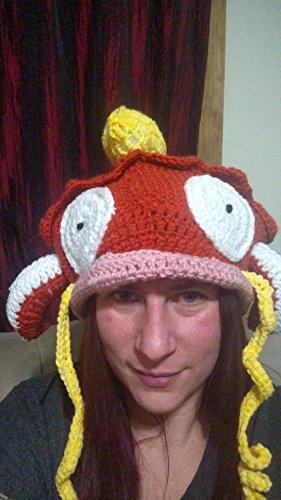 Crochet Magikarp Slouchy Hat