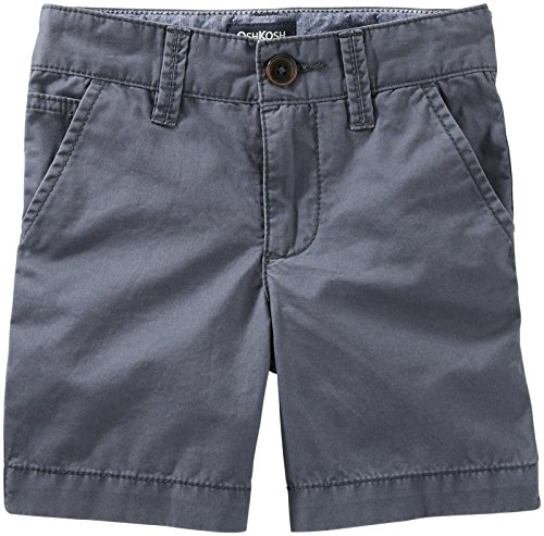 Oshkosh B'gosh Oshkosh B'gosh Boys Woven Short 21956819, Gray, 3T Toddler