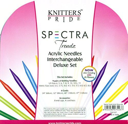 Knitter's Pride Trendz Deluxe Interchangeable Needle Set by Knitter's Pride