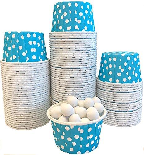 mini baking cups dots - 5